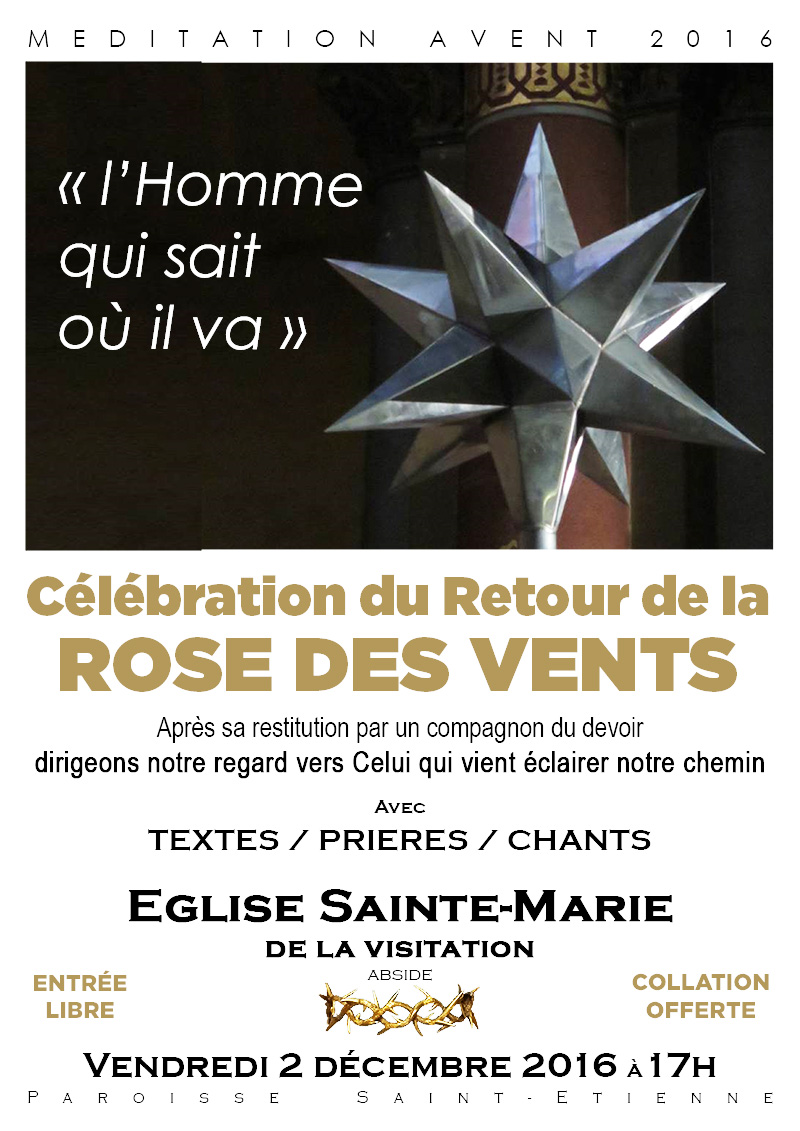 Celebration du retour de la rose des vents