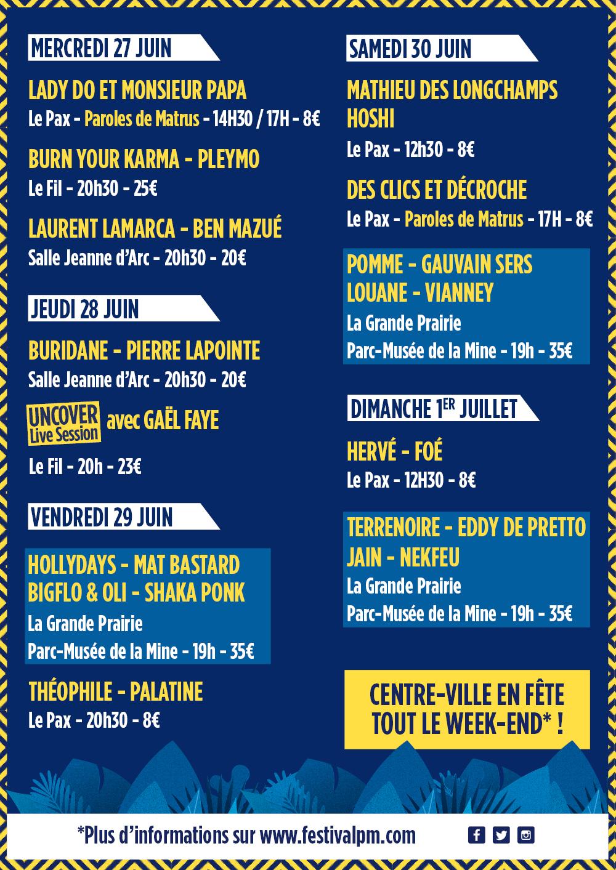 Festival paroles 2018