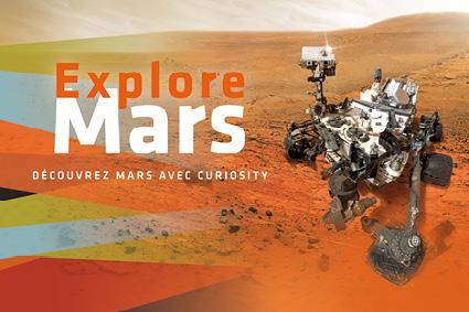 Visuel explore mars